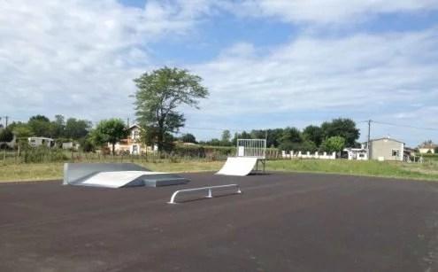 Skate Park - Les équipements