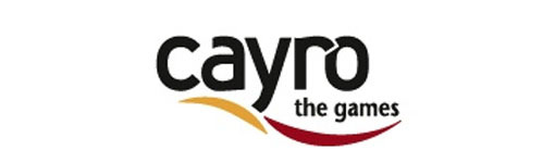 Logotipo de cayro the game patrocinador de recicla y comparte