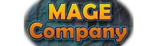 Logotipo de Mage Company Editora de 12 realms