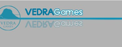 Logo de Vedra games editores de Colonial Space wars