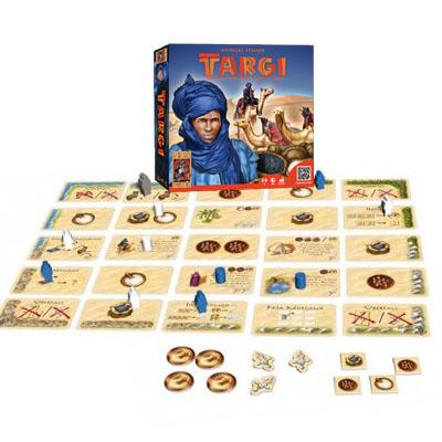 Componenetes del juego Tuareg