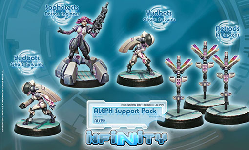 Aleph Support Pack de Infinity