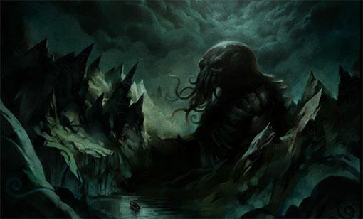 Ilustracion de Cthulhu
