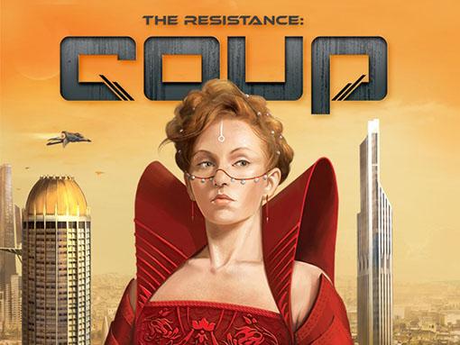 Portada de The Resistance Coup