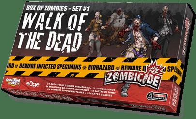 Walk of the dead nueva expansión para zombicide