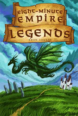 Portada de Eight Minute Empire Legends