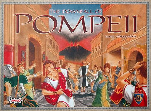 Caja de The downall of Pompeii