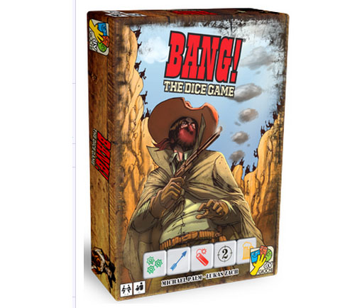 Caja de bang! the dice game