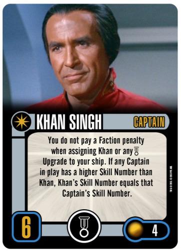 Carta promocional de Khan