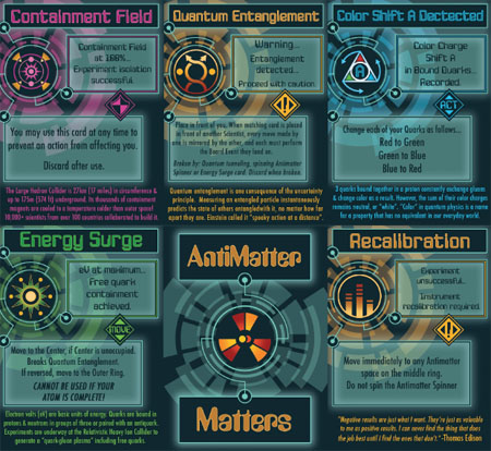 Cartas de Antimatter Matters