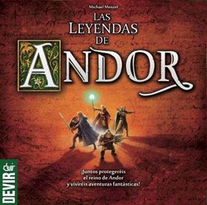 Leyendas de Andor ganador del Kennerspiel des Jahres 2013