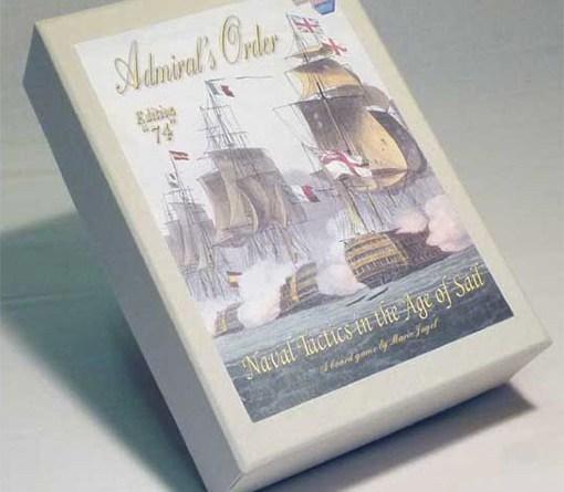 caja de Admiral orders naval tactics in the age of sail