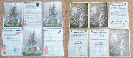 Cartas de acción de Admiral orders naval tactics in the age of sail
