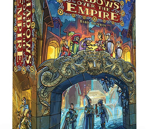 Portada de Shadows over the empire