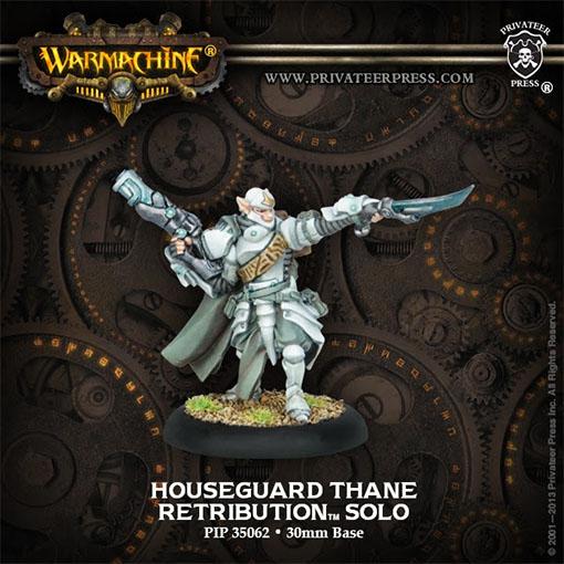 Houseguard Thane de Warmachine