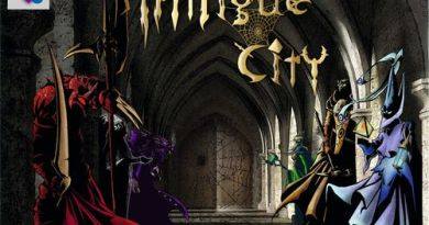 Portada de Intrigue City