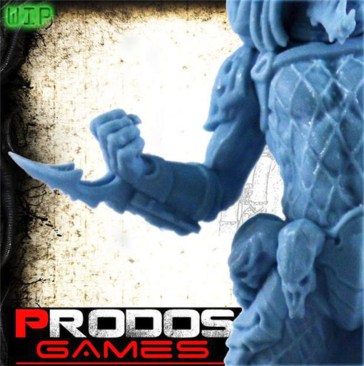 Detalle del predator