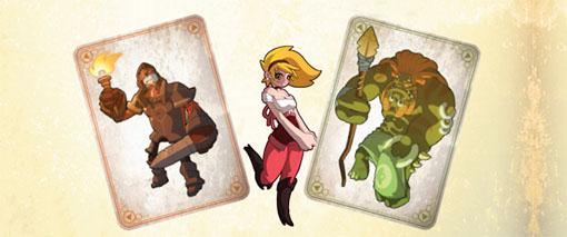 Cartas de Monsters and maidens