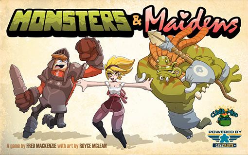 Portada de Monsters and maidens
