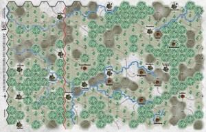 foto The Bugle: 6th Panzer Army, mapa