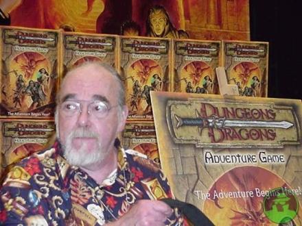 El creador de Dungeons & Dragons Gary Gygax