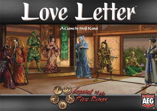 Portada de Love Letter L5R