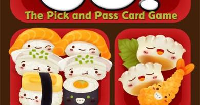 Portada del nuevo Sushi Go!