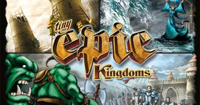 Caja de Tiny Epic Kingdoms