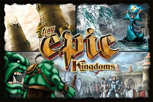 Caja de Tiny Epic Kingdoms