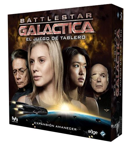 Caja de Amanecer expansión de Battlestar Galactica
