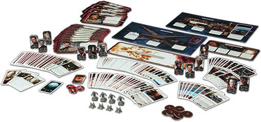Componentes de amanecer expansión de Battlestar Galactica