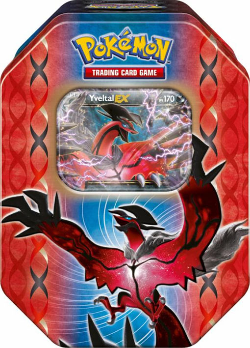 Caja Metálica de Pokémon XY