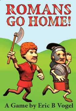 Antigua portada de Romans Go Home