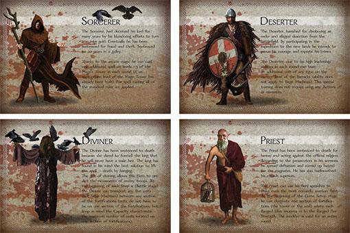 The convicted cartas de heroes