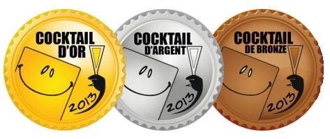 Medallas de los premios Cocktail d'or