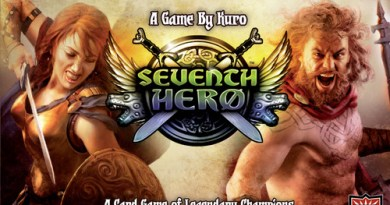 Portada de Seventh Hero de AEG