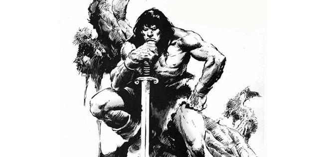 Conan de Cimmeria dibujado por Buscema