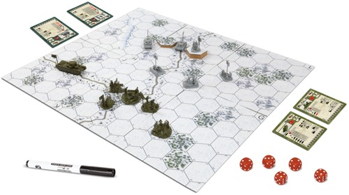 Tablero de Battle for Moscow