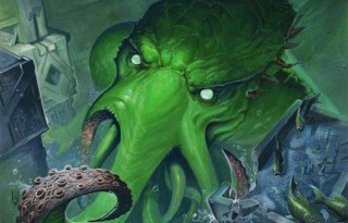 ilustracion de cthulhu's vault