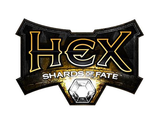 Logo de Hex juegod e Cryptozoic entertaiment