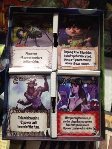 Cartas de Smash up monster smash