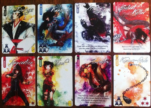Cartas originales de Shinobi
