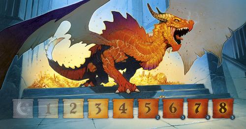 Tablero del dragon en dragon run