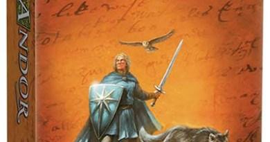 Portada de las leyendas de Andor el escudo de las estrellas