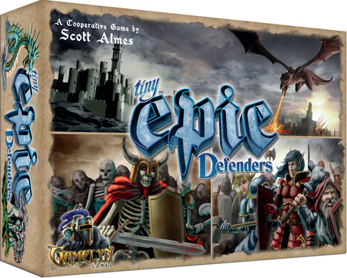 Caja de tiny epic defenders