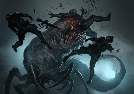 Ilustraciones de XenoShyft Onslaught