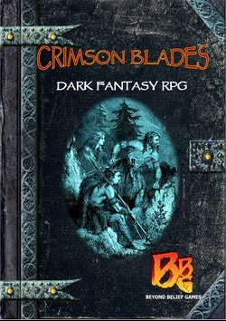 Crimson Blades, RPG book