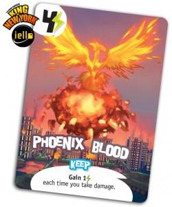 King of New York, carta promocional Phoenix Blood