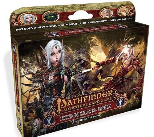 Pathfinder Rogue Class deck