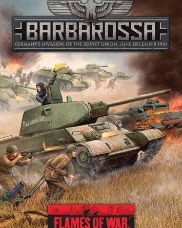 Flames of War, Barbarossa portada